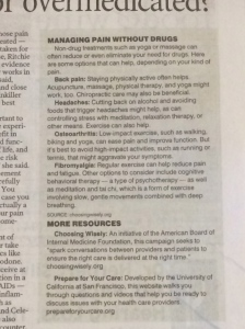 From Sarasota Herald Tribune What is similar in all of these remedies?